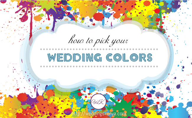 How To Pick Your Wedding Colors Inspire By Weddings Kenya