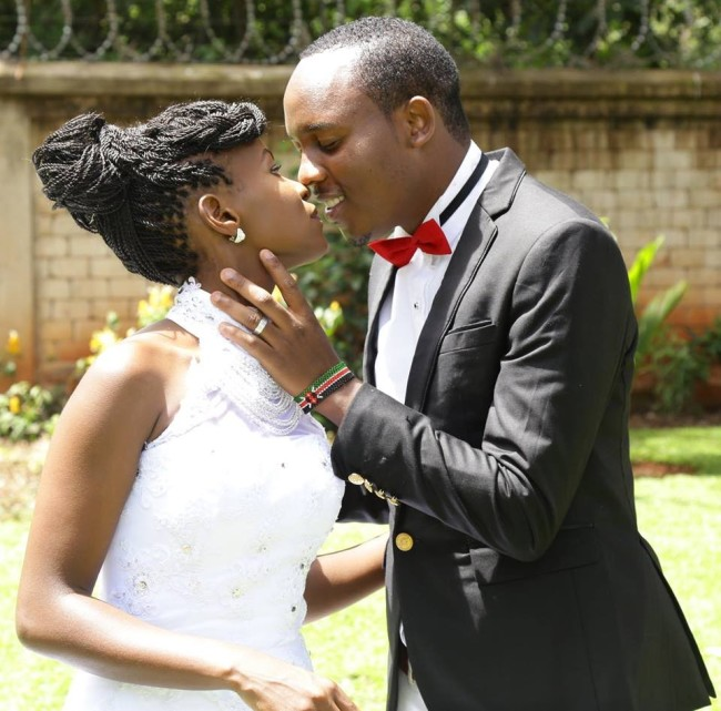 Judy Nyawira and Abel Mutua